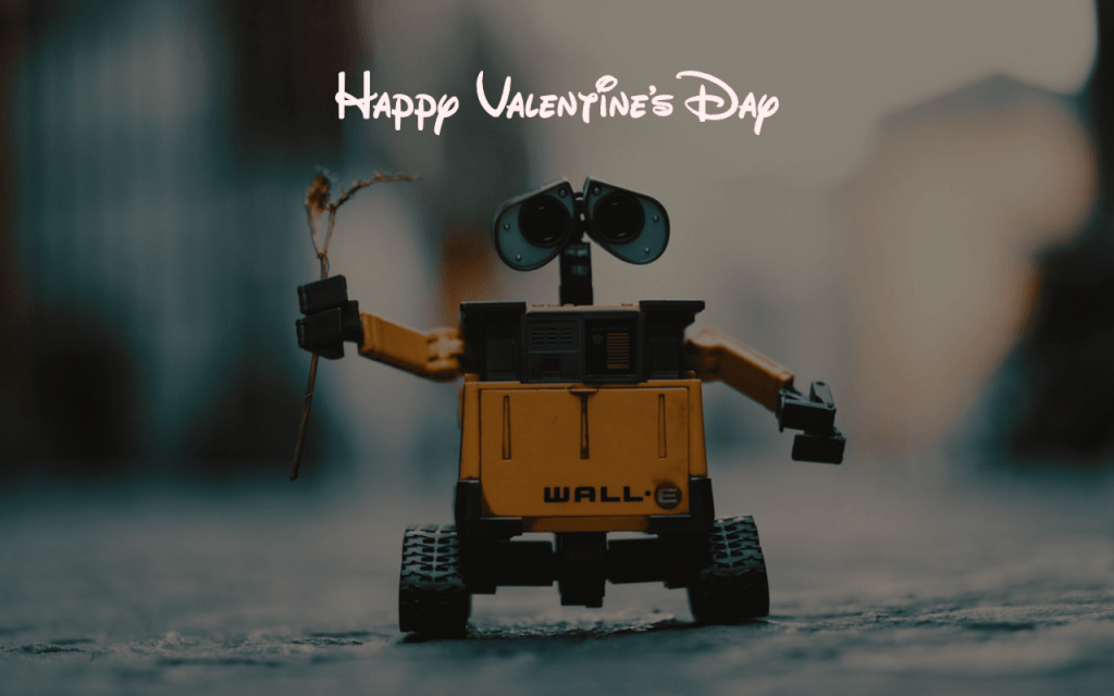 Happy Valentine's Day from Wall-E