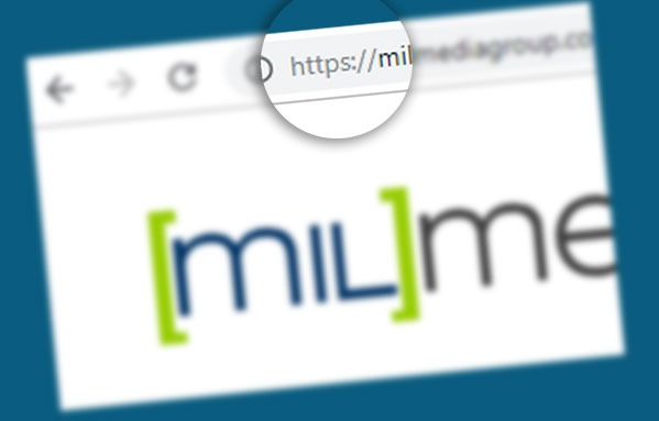 SSL of milMedia website