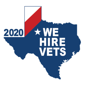 We hire vets logo