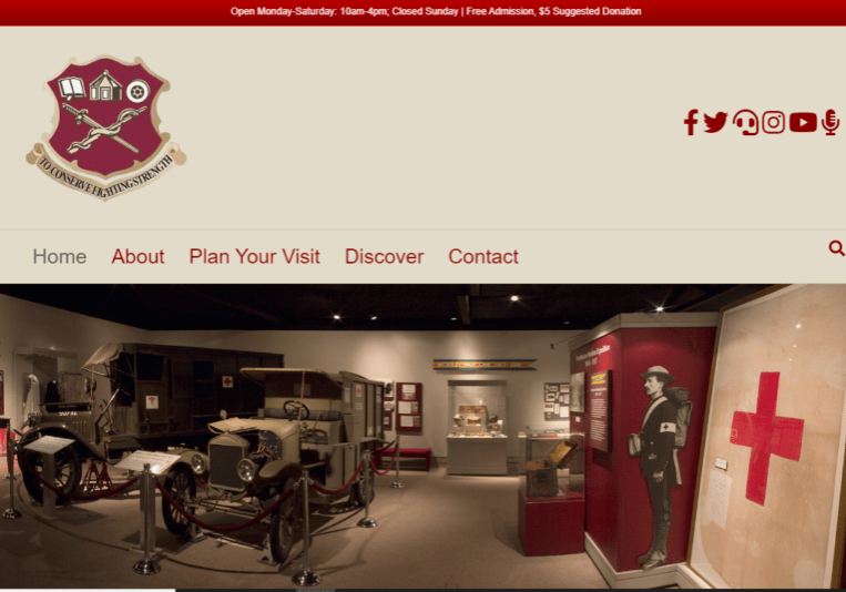 Army Medical Museum website